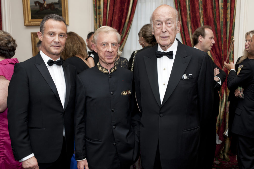 Francis BAILLET - Patrick GENTIL - Valéry GISCARD D'ESTAING