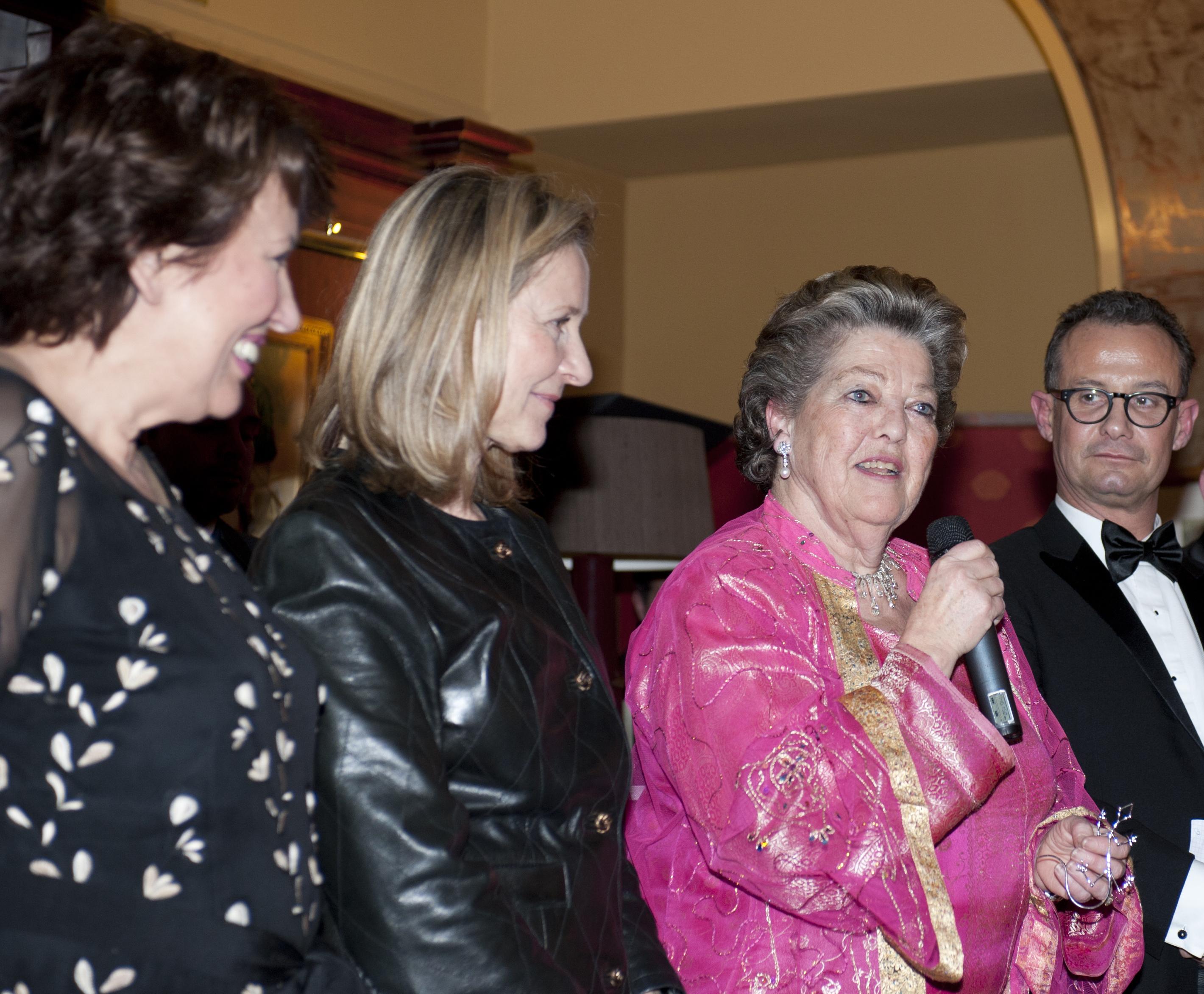 Roselyne BACHELOT - Armelle CEGLEC - S.A.R la princesse Chantal de FRANCE - Francis BAILLET