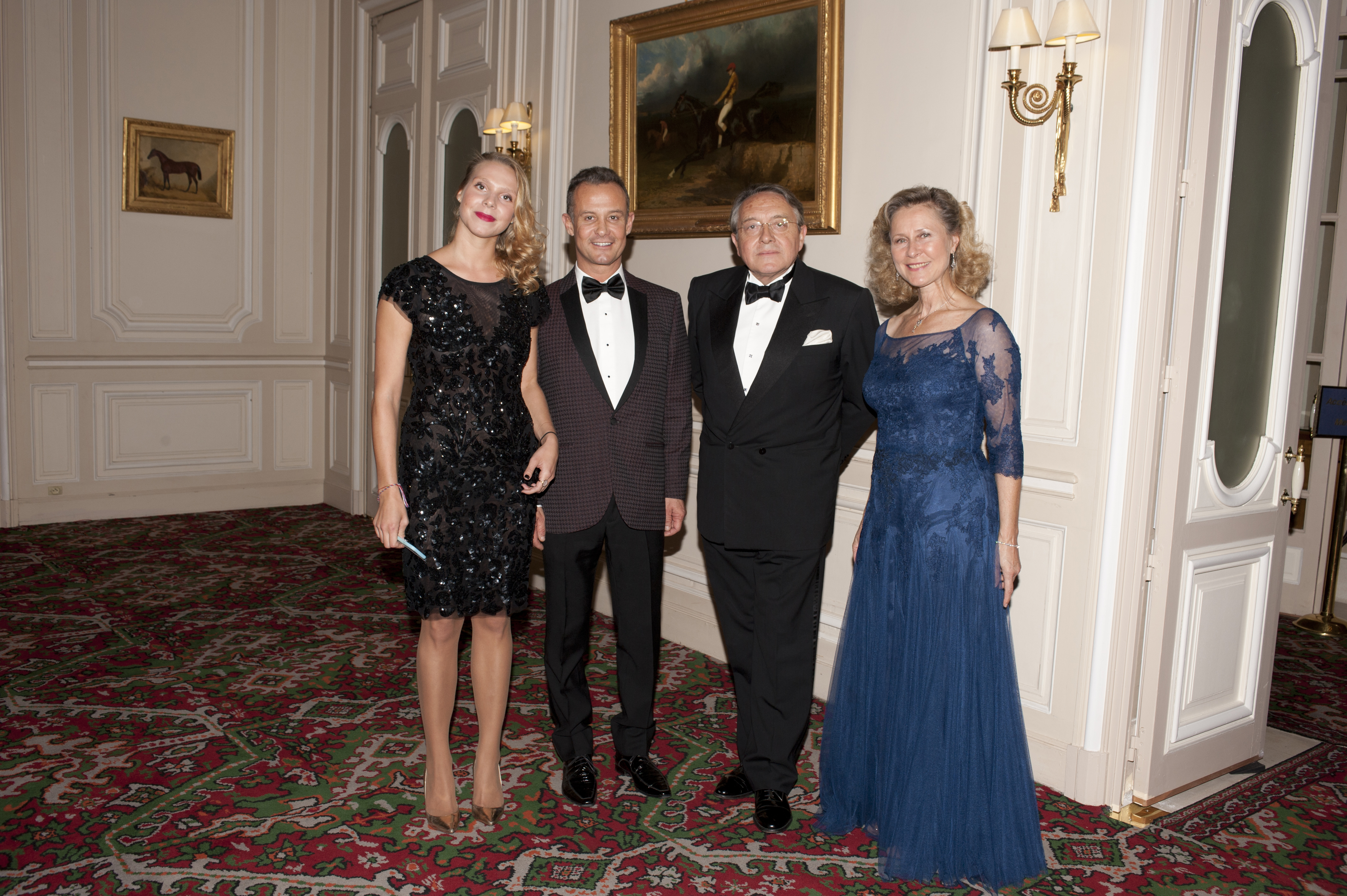Jean-Luc MARTIN du DAFFOY et son épouse - Francis BAILLET - Armelle CEGLEC