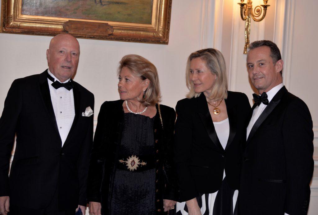 Baron François-Xavier de SAMBUCY de SORGUE - Sophie de MENTHON - Armelle CEGLEC - Francis BAILLET