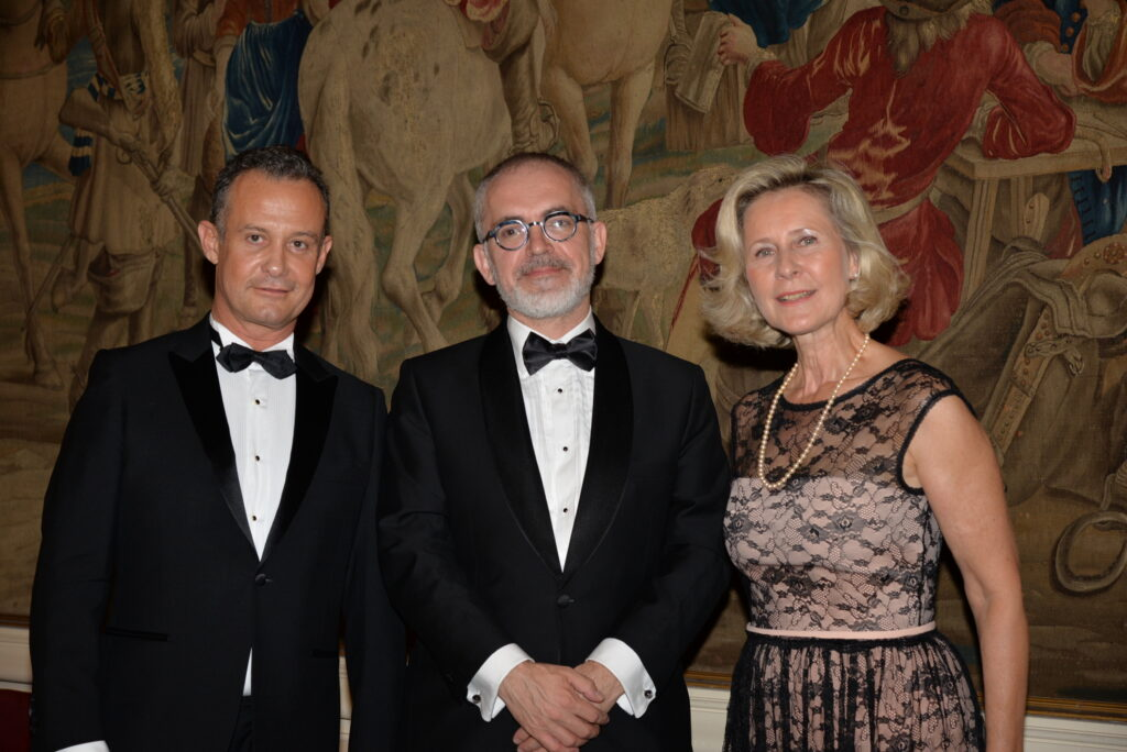 Francis BAILLET - Baron Marc de MONSEMBERNARD - Armelle CEGLEC
