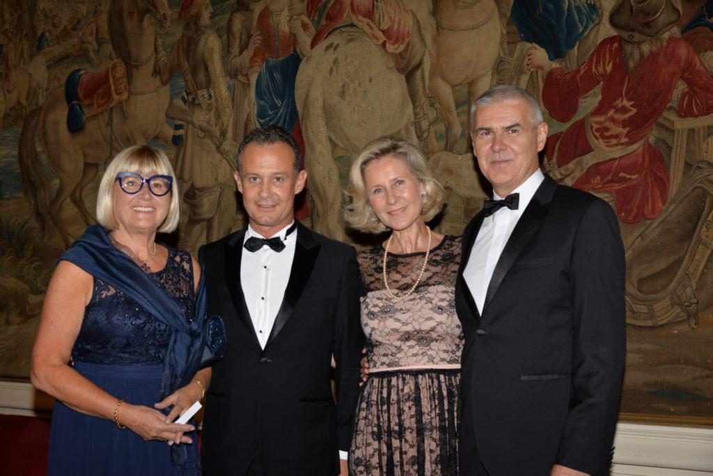 Marie Pierre DILASSER - Francis BAILLET - Armelle CEGLEC - Général François QUEGUINER