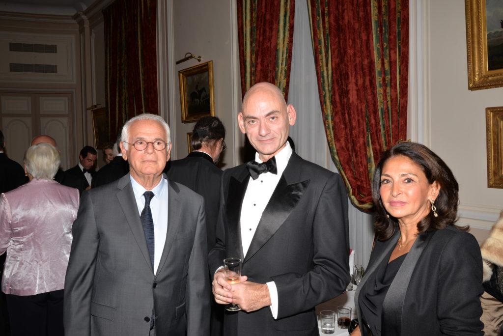 Henry MARTIN - Stéphane-Jacques ADDADE, écrivain - Nicole GUEDJ, présidente de France Israël