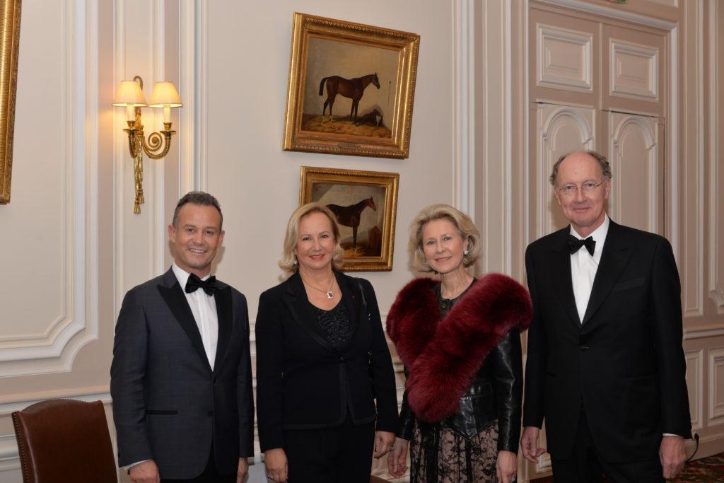 Francis BAILLET - Mme Yves de GAULLE - Armelle CEGLEC - Yves de GAULLE