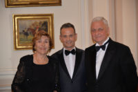 Édith CRESSON, ancien Premier ministre - Francis BAILLET, avocat à la Cour - Alexandre ORLOV, ambassadeur de Russie