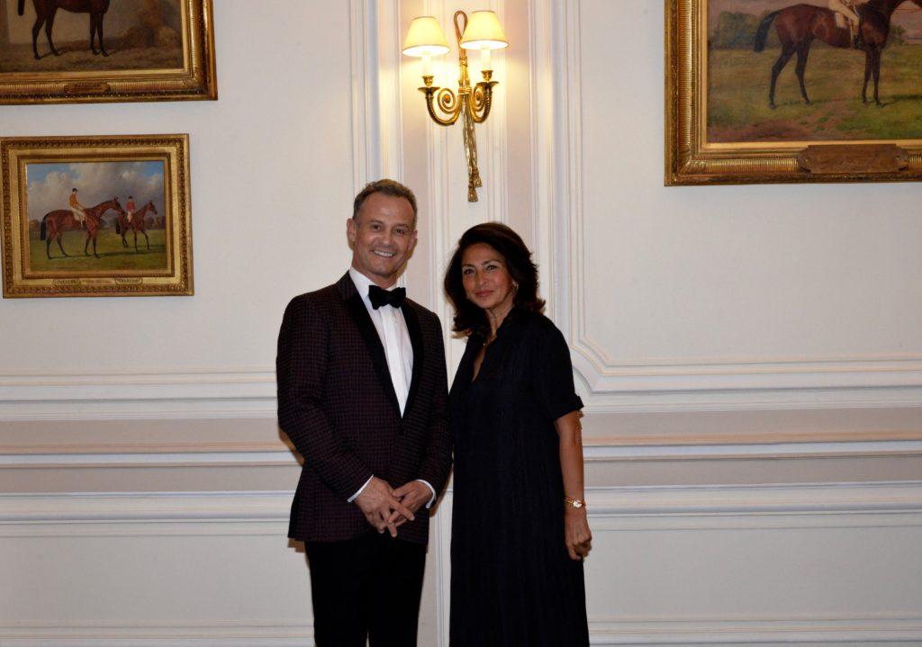 Francis BAILLET, avocat à la Cour - Nicole GUEDJ, ancien ministre, présidente de France Israël