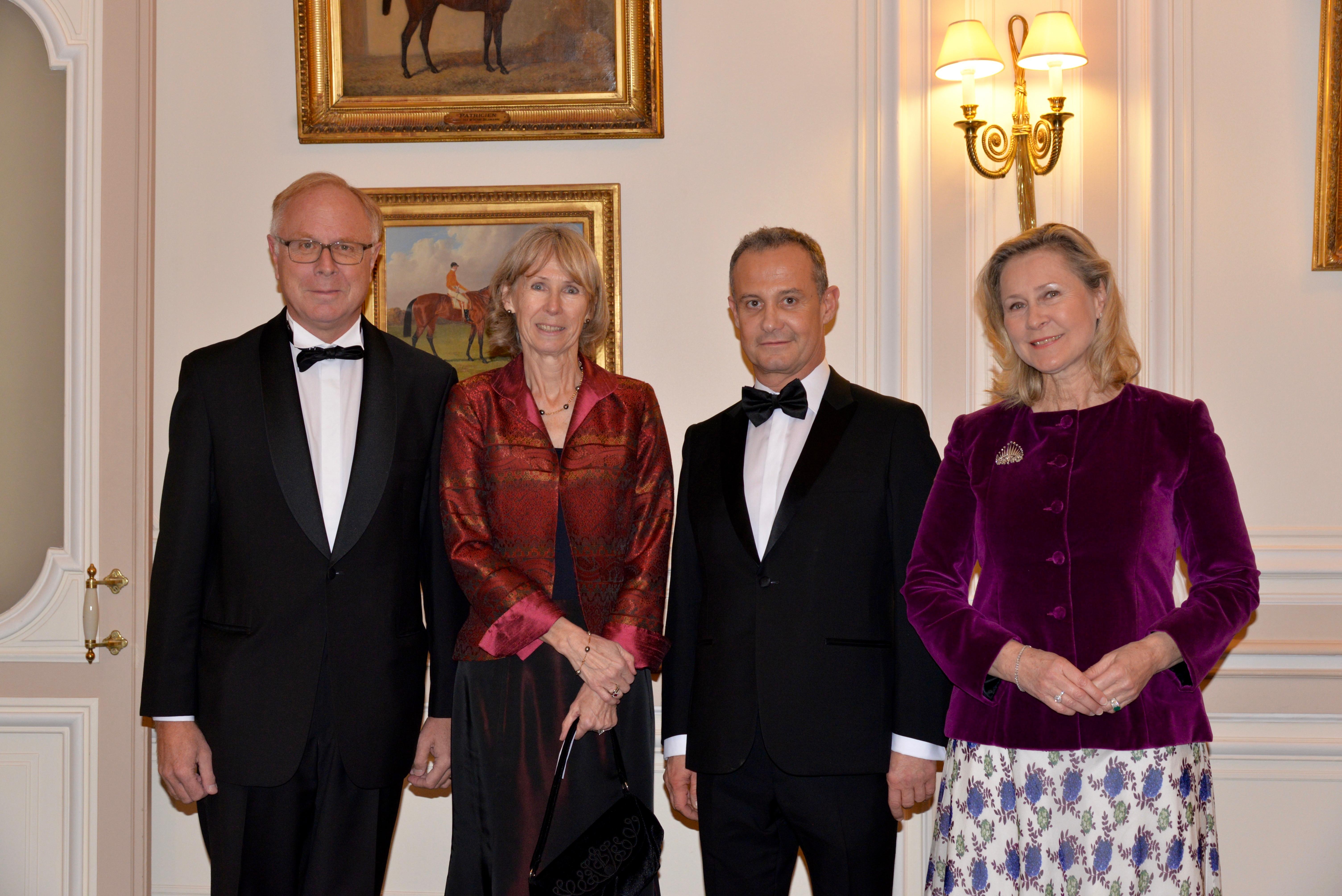 M. et Mme Alain BERTEAU - Francis BAILLET - Armelle CEGLEC