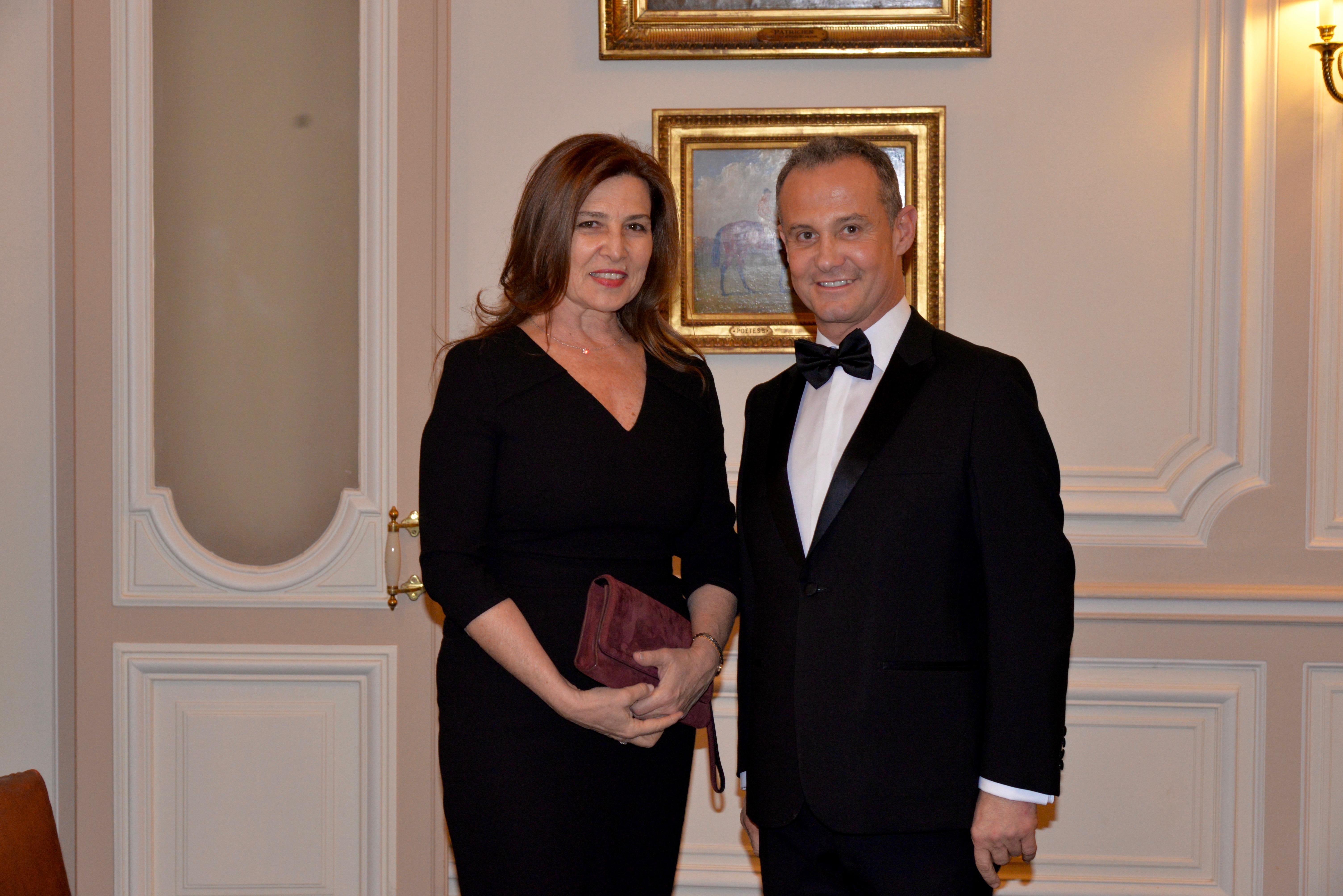 Aliza BIN-NOUN, ambassadrice d'Israël en France et à Monaco - Francis BAILLET