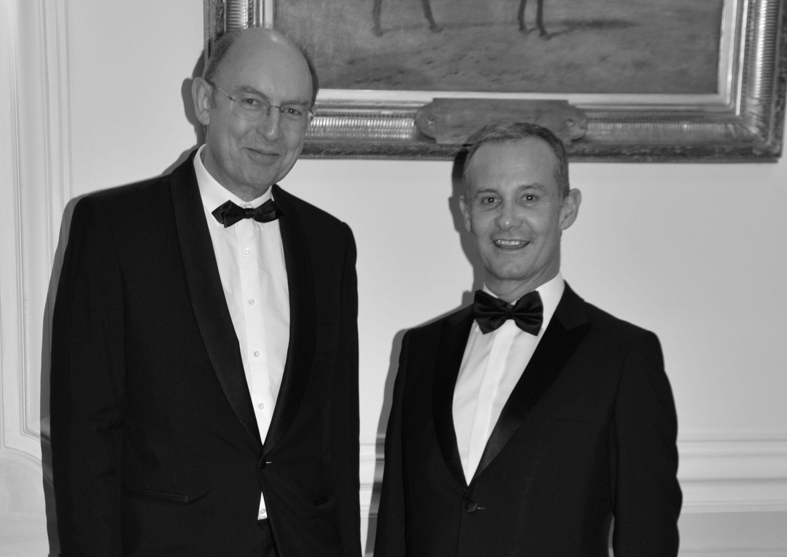 Le député Michel VIALAY, président d'une mission contre le plastique et l'avocat Francis BAILLET