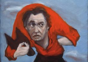«Le masque de chien» (autoportrait) (2002), de Gérard Garouste.